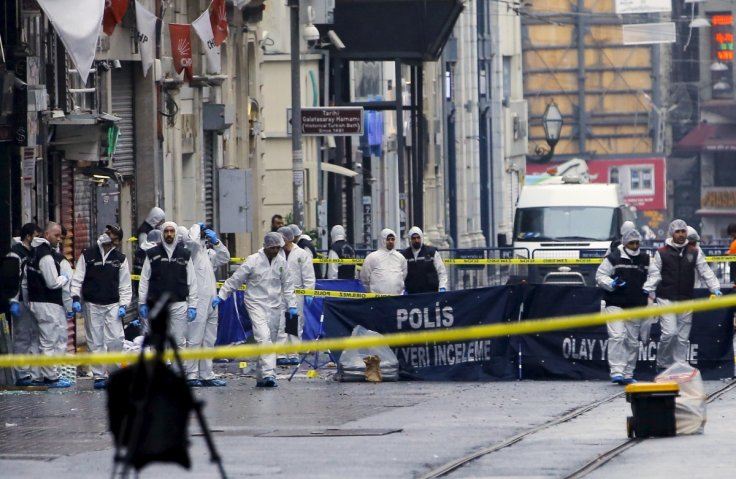 suicide bombing Istanbul Istiklal