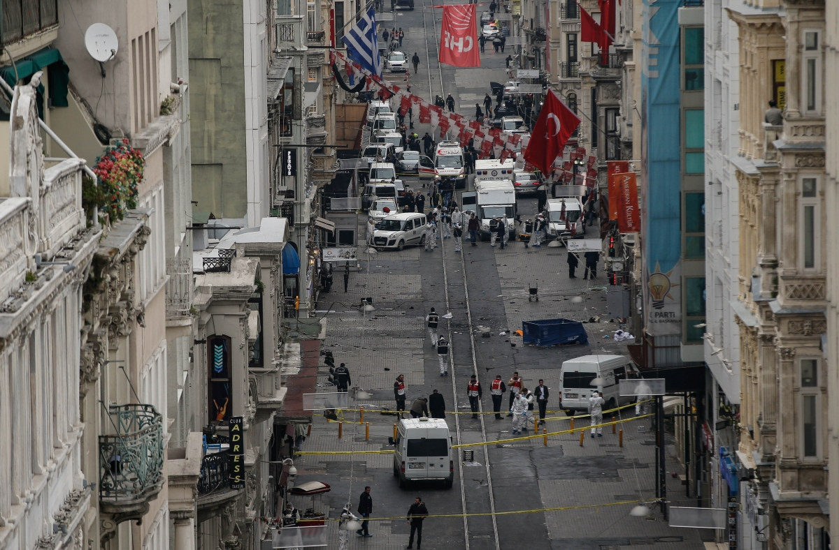Istanbul suicide bombing Istiklal
