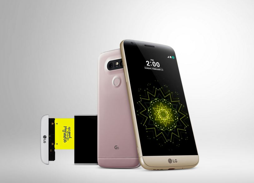 LG G5 pre-orders in UK