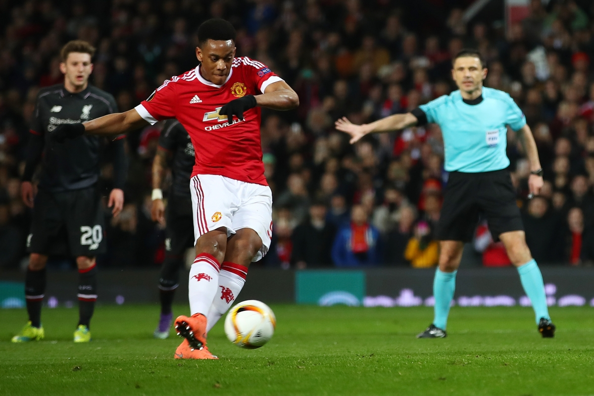 Anthony Martial has impressed since joining United