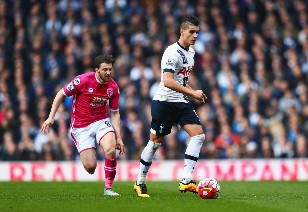 Erik Lamela was in inspired form