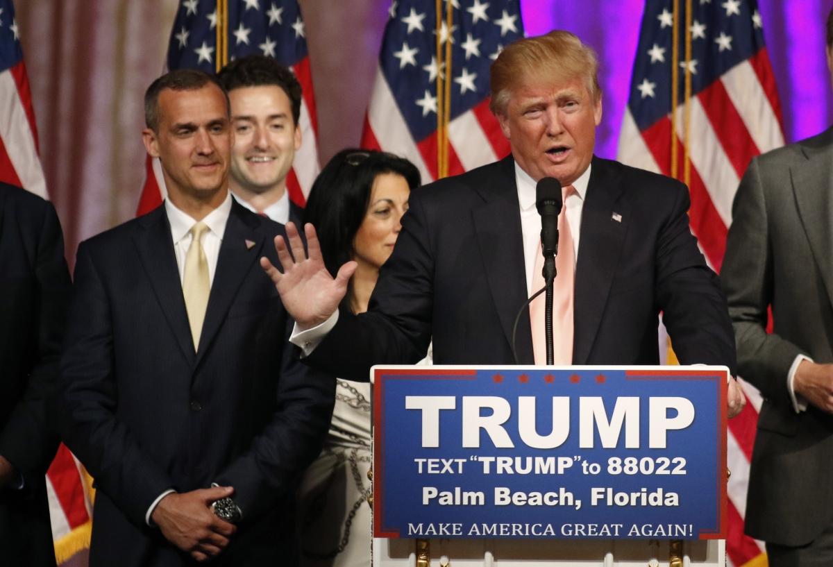 Lewandowski and Trump