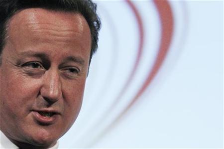 Prime Minister David Cameron speaks at the Civil Service Live conference