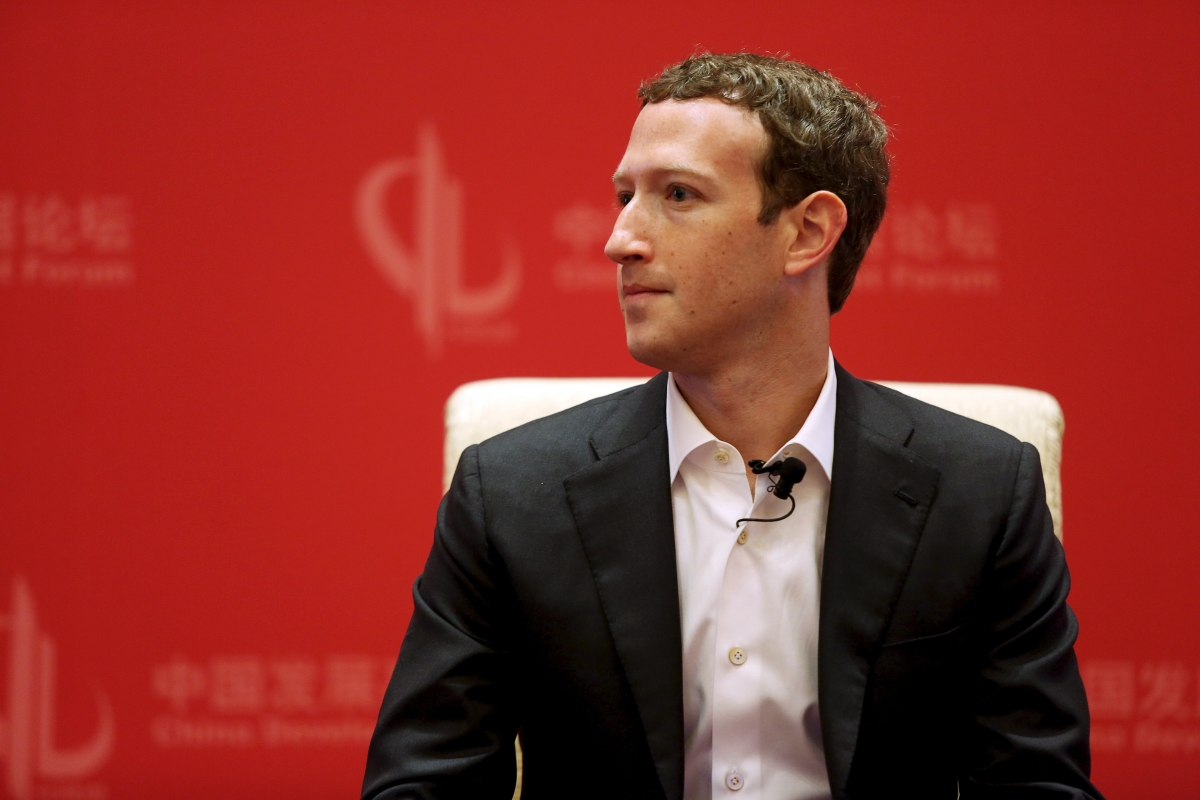 Facebook's Mark Zuckerberg in China
