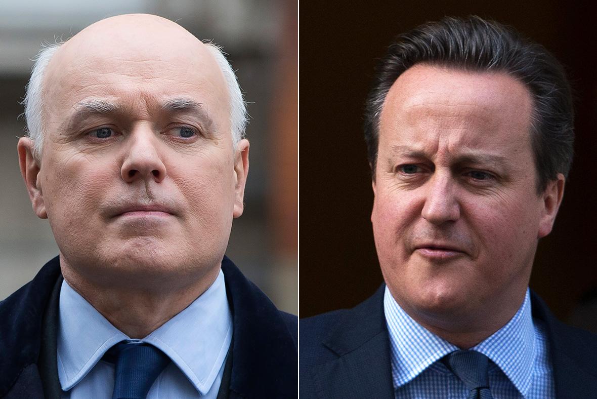 David Cameron, Iain Duncan-Smith