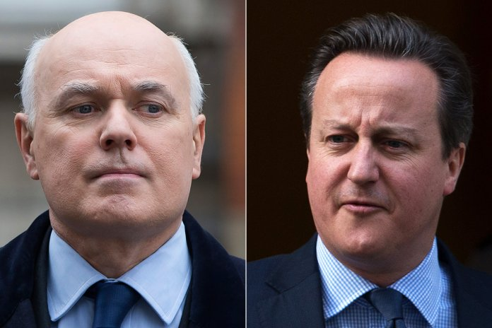 David Cameron, Iain Duncan-Smith