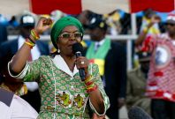 Zimbabwe\'s First Lady Grace Mugabe