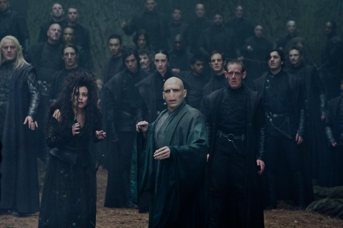 Voldemort and the Death Eaters