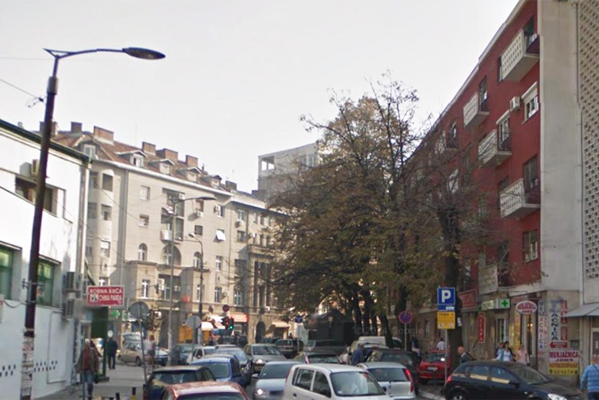 Belgrade suicide bomber