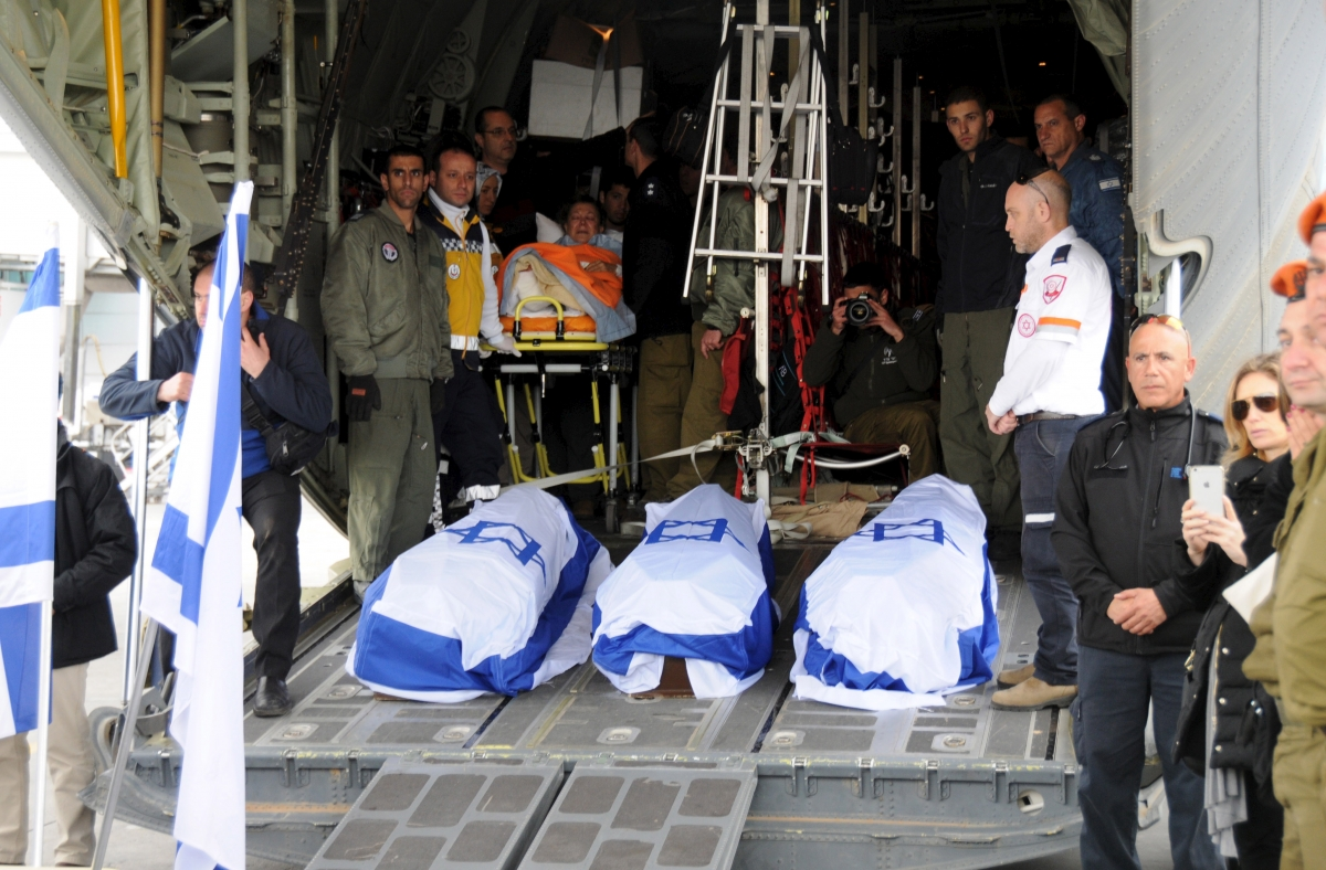 Israelis killed Istanbul bombing