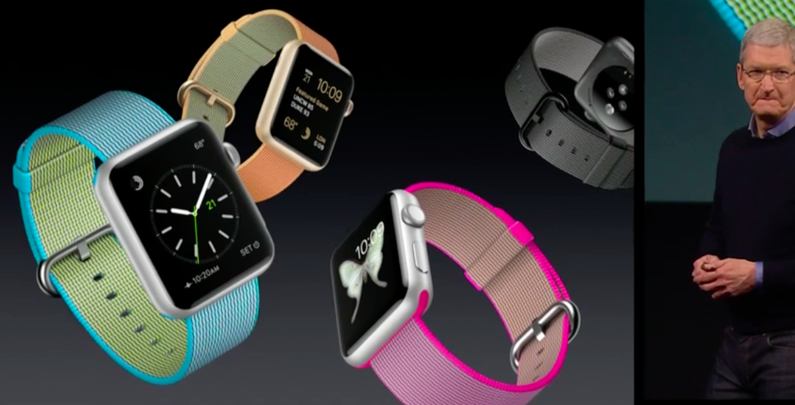 Apple Nylon Band