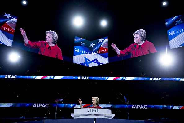 Hilary Clinton AIPAC