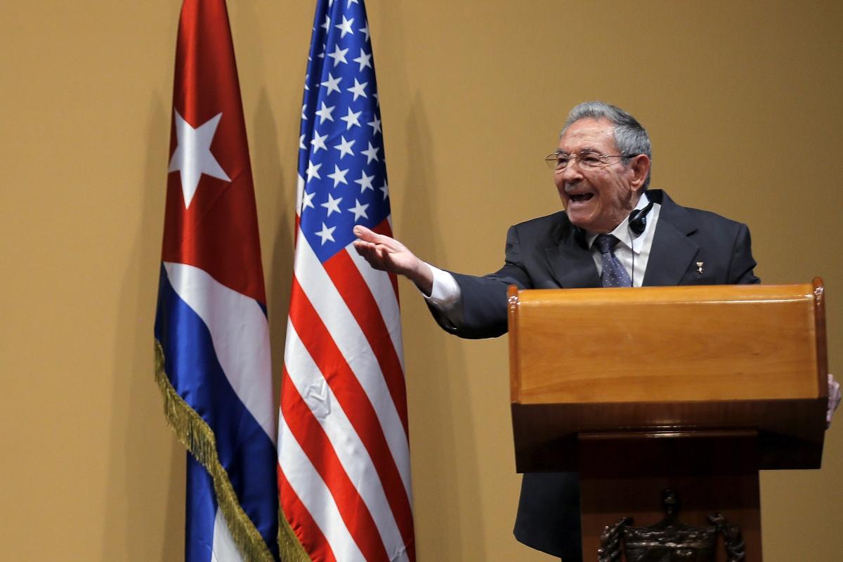 Raul Castro Barack Obama press conference