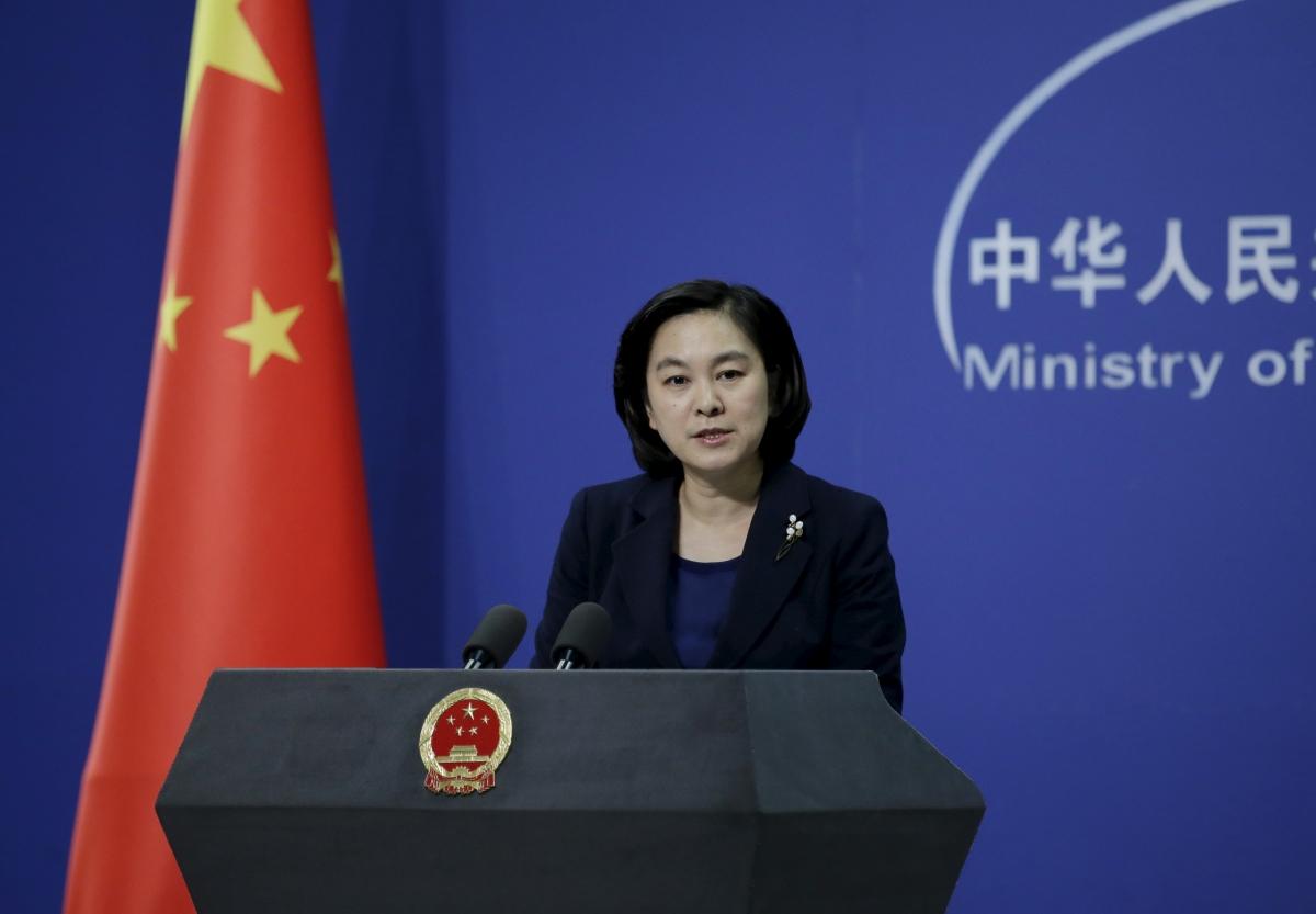 Chinese spokesperson Hua Chunying