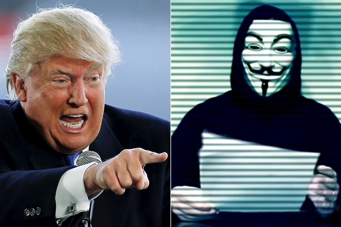 """Anonymous Op Trump oops: Hacker group dupes Trump, Secret Service and FBI with latest """"leak"""""""