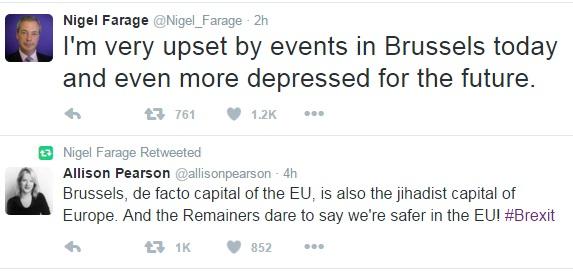Nigel Farage Twitter