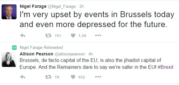 Nigel Farage Twitter