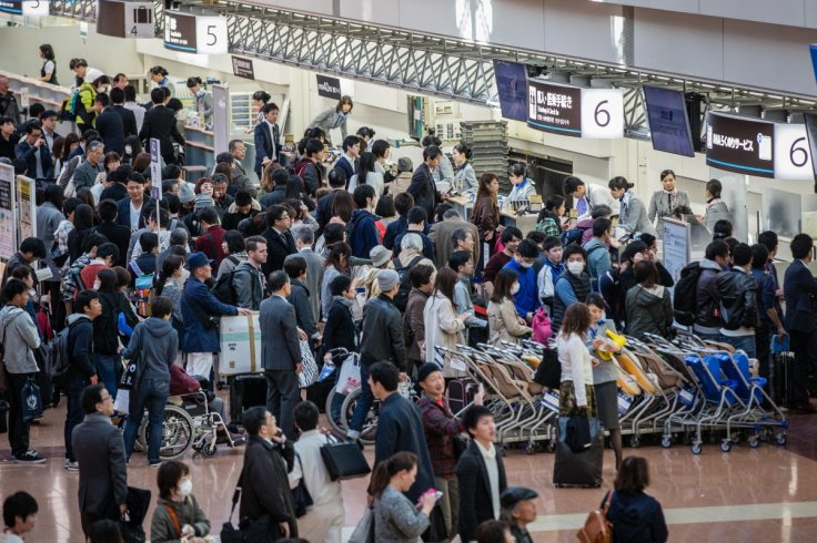 Japan travel chaos as computer glitch
