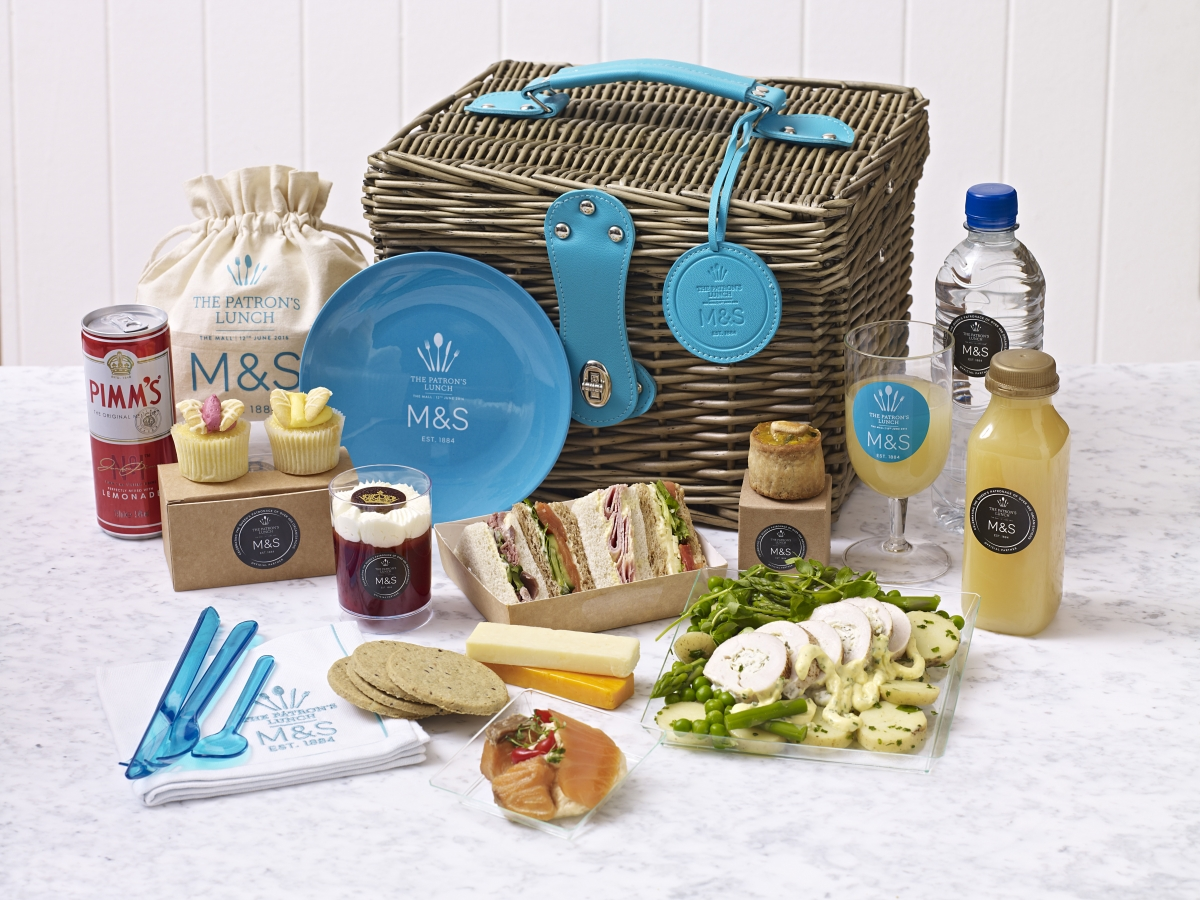 Marks and Spencer Patron's Lunch Hamper