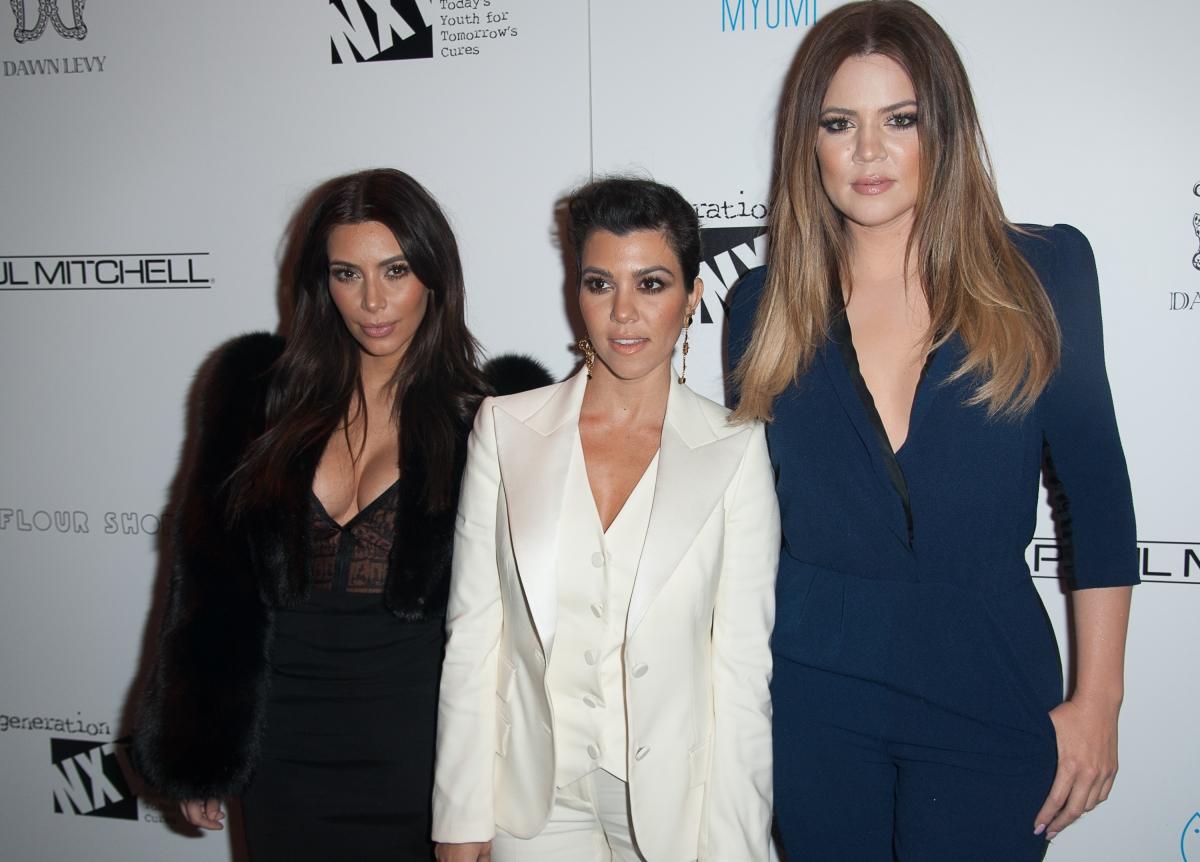 Kim, Khloe, Kourtney Kardashian
