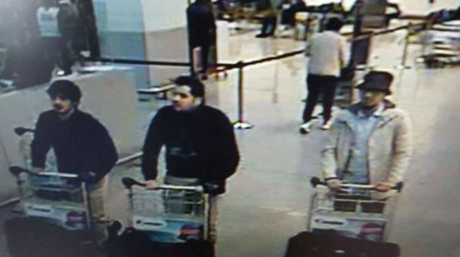 Suspect in Zaventem airport attack