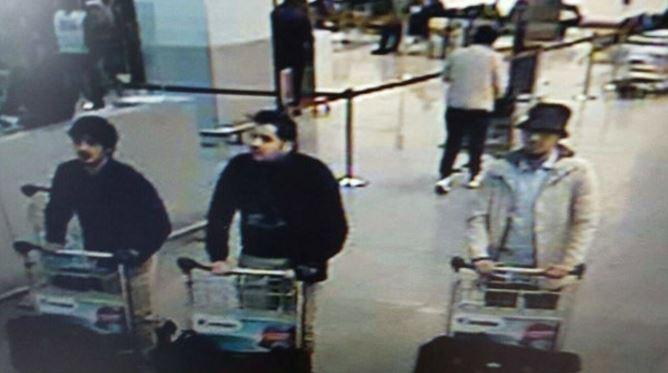 Suspect in Zaventem airport attack