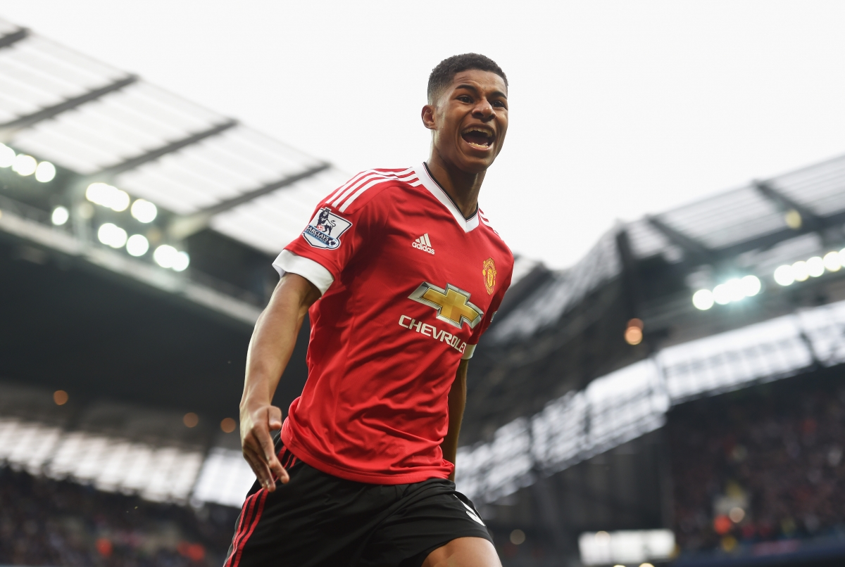 Marcus Rashford has burst onto the scene