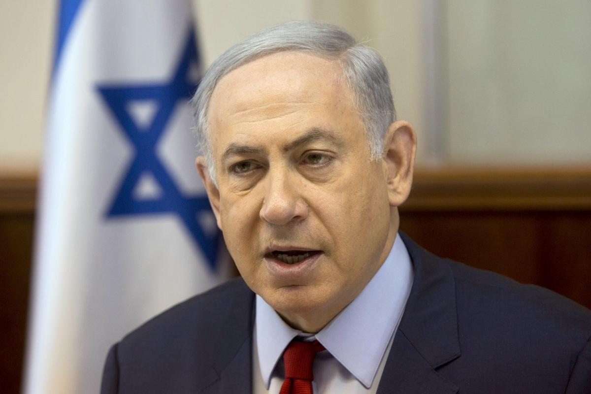 benjamin netanyahu israel peace process 2016