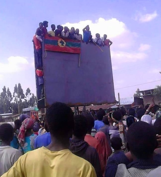Oromo protests in Karsa town