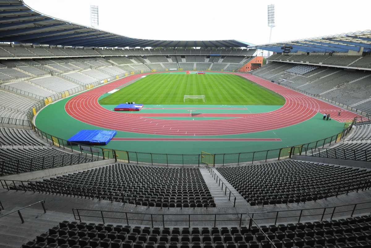 The King Baudouin Stadium in Brussels