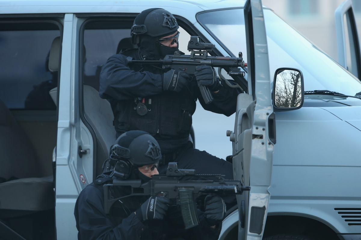 The German elite DPA anti-terror unit