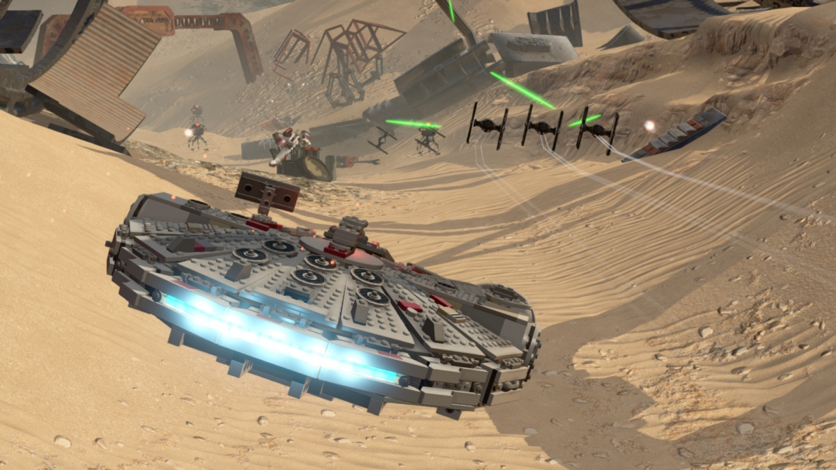 Lego Star Wars Force Awakens Gameplay Trailer