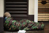 Homelessness England London Shelter DCLG