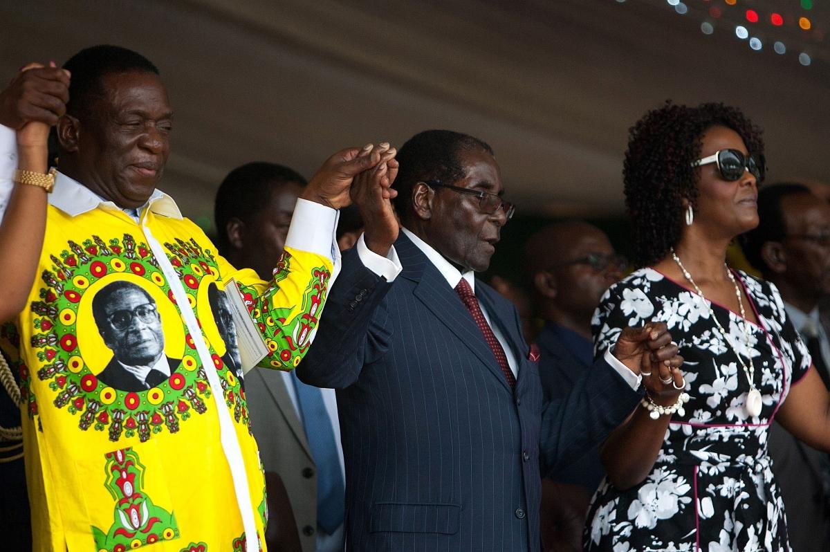 Emmerson Mnangagwa, Zimbabwes vice president