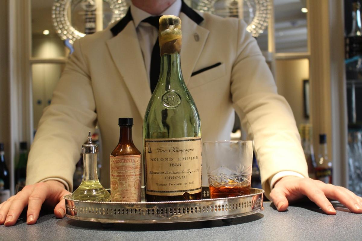 £5,000 Sazerac from the American Bar