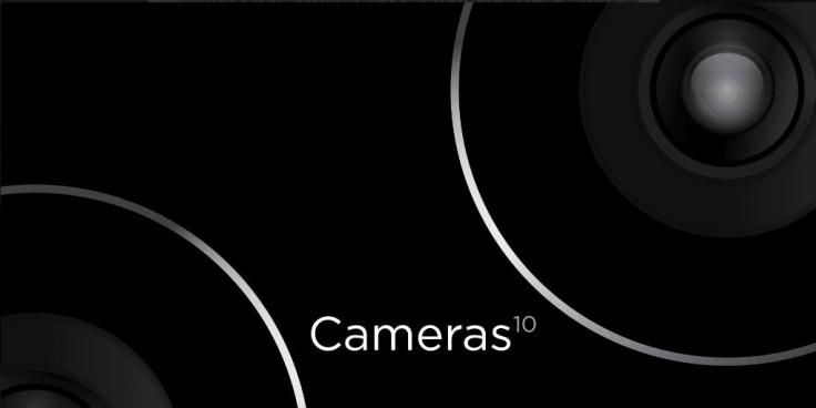HTC One M10 cameras