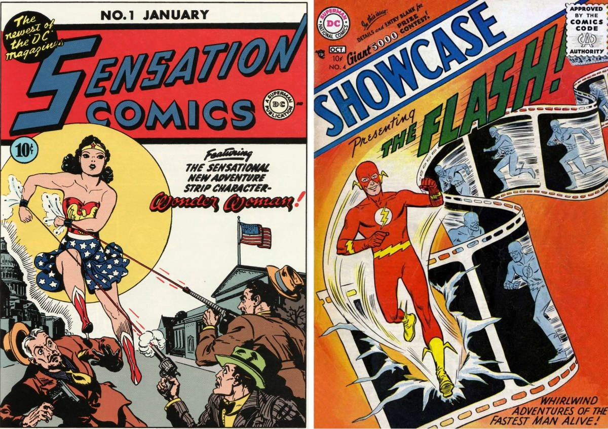 Impossible Collection featuring Wonder Woman and Flash