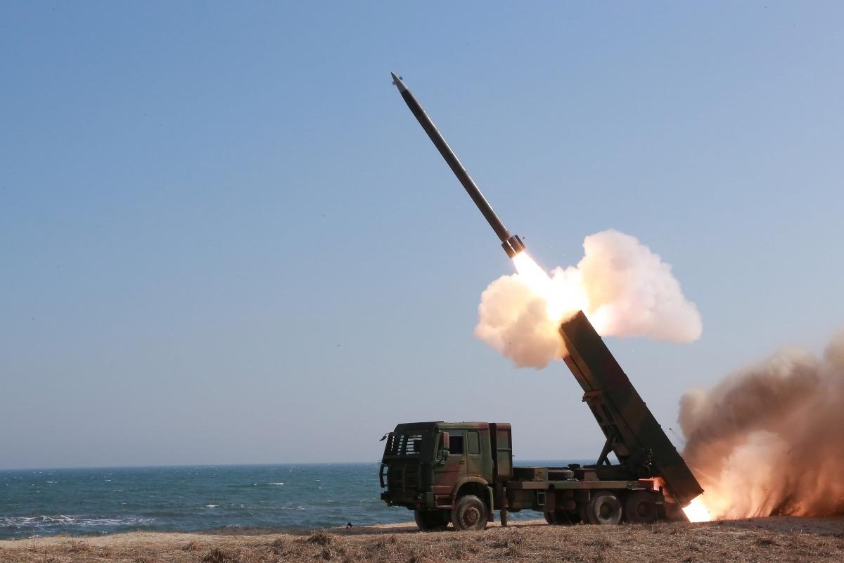 North Korea solid-fuel rocket