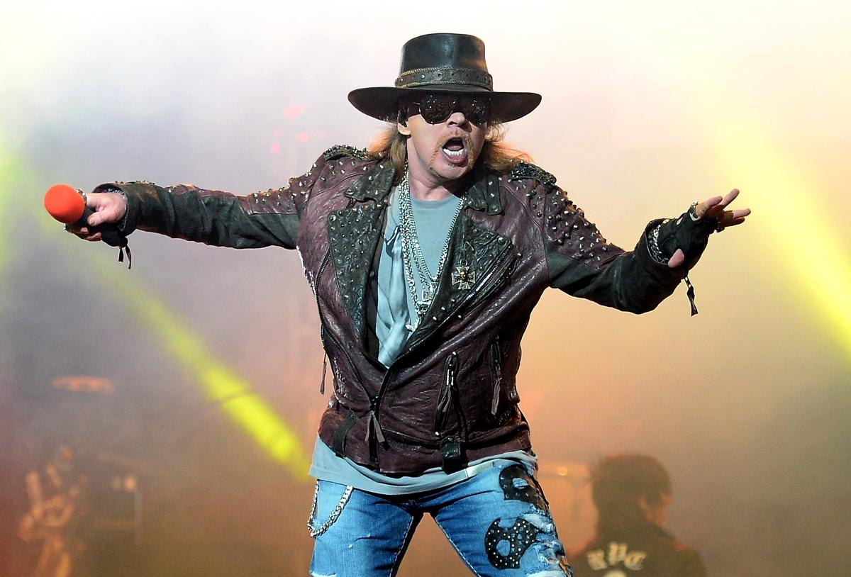 Guns N\' Roses Axl Rose