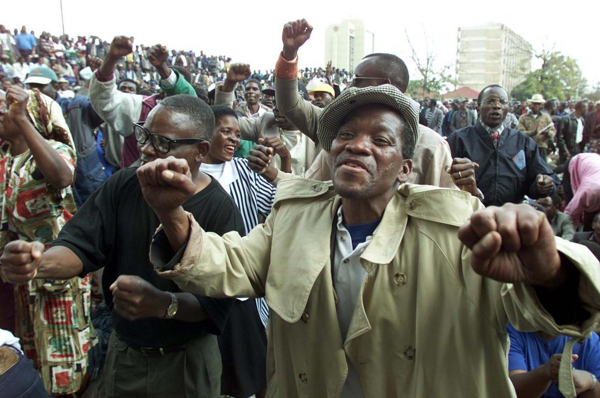 War veterans in Zimbabwe