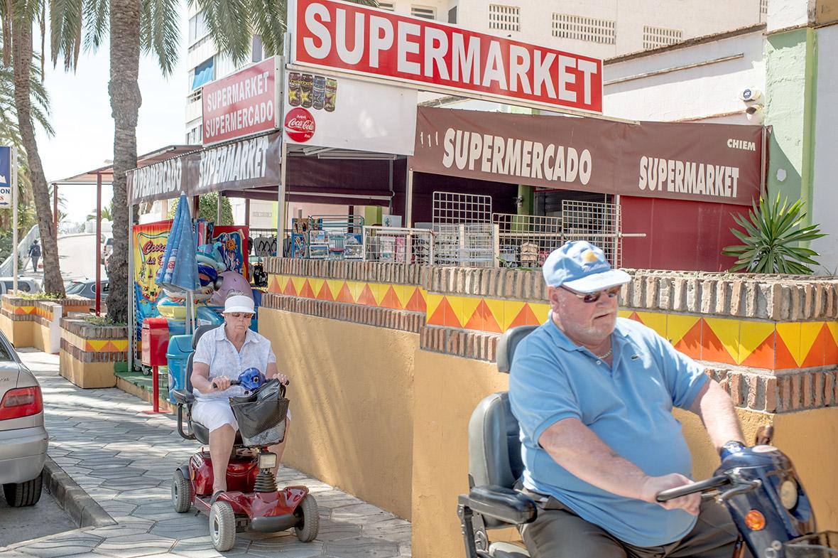 British pensioners Spain