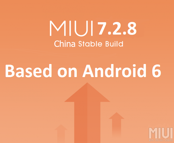 MIUI v7.2.8.0 for Mi 4 and 3