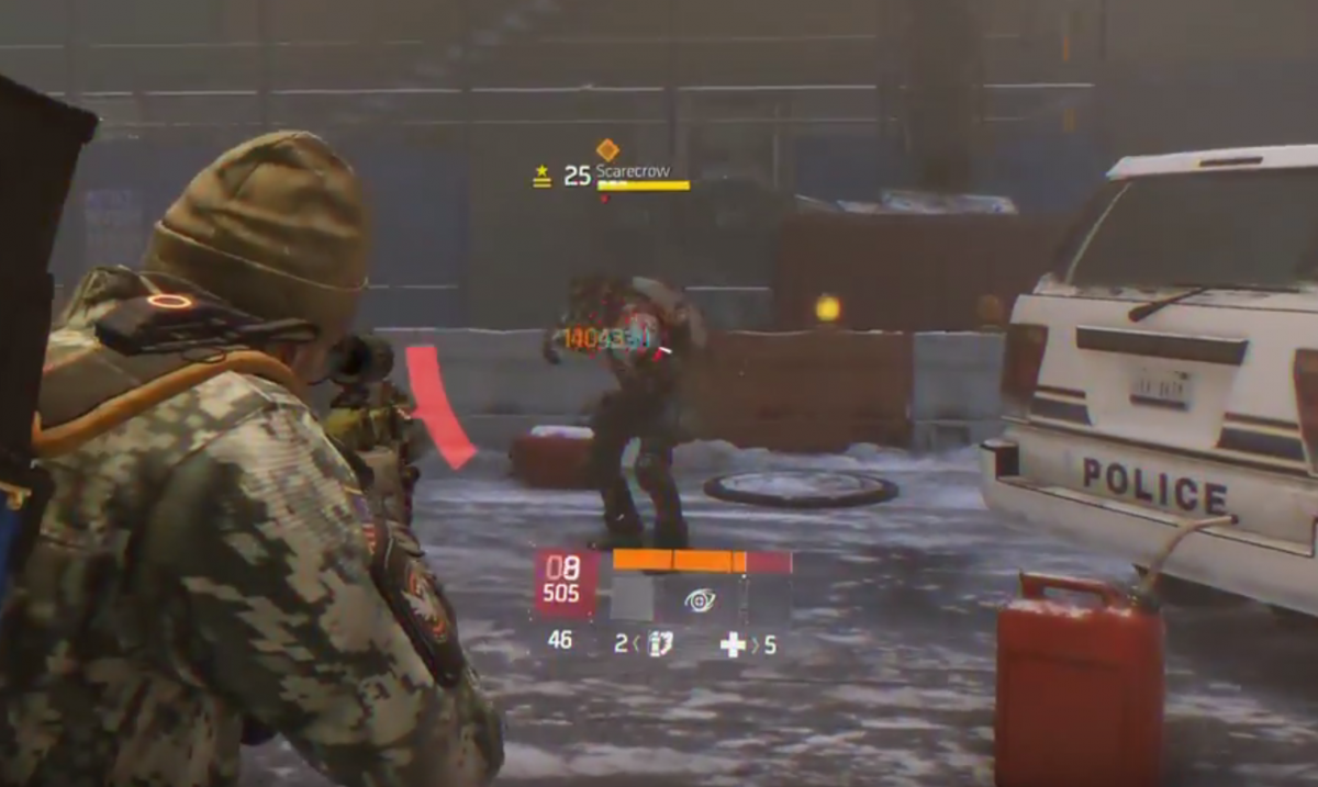The Division Scarecrow Exploit