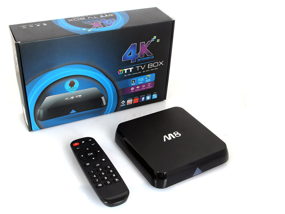 Pirated TV set top box on eBay