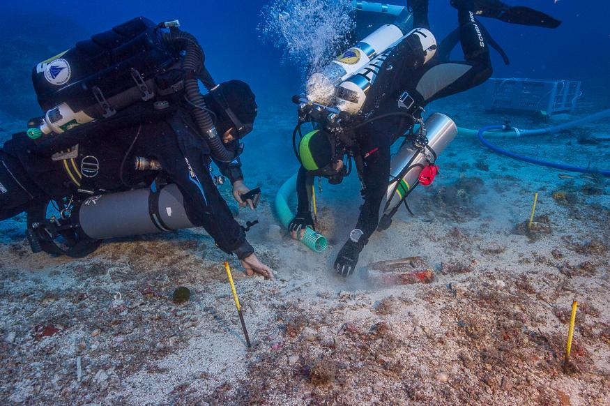 Antikythera shipwreck expedition