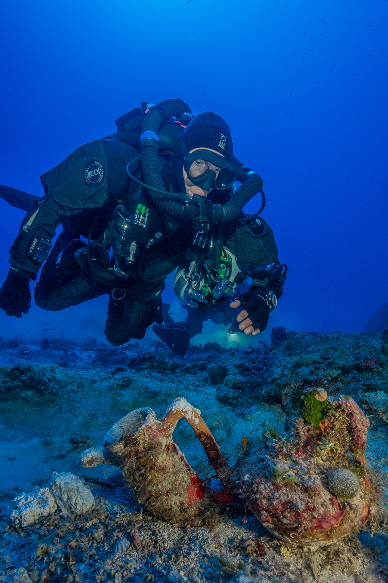Secrets of ancient DNA from Greek shipwrecks uncovered by police forensic science
