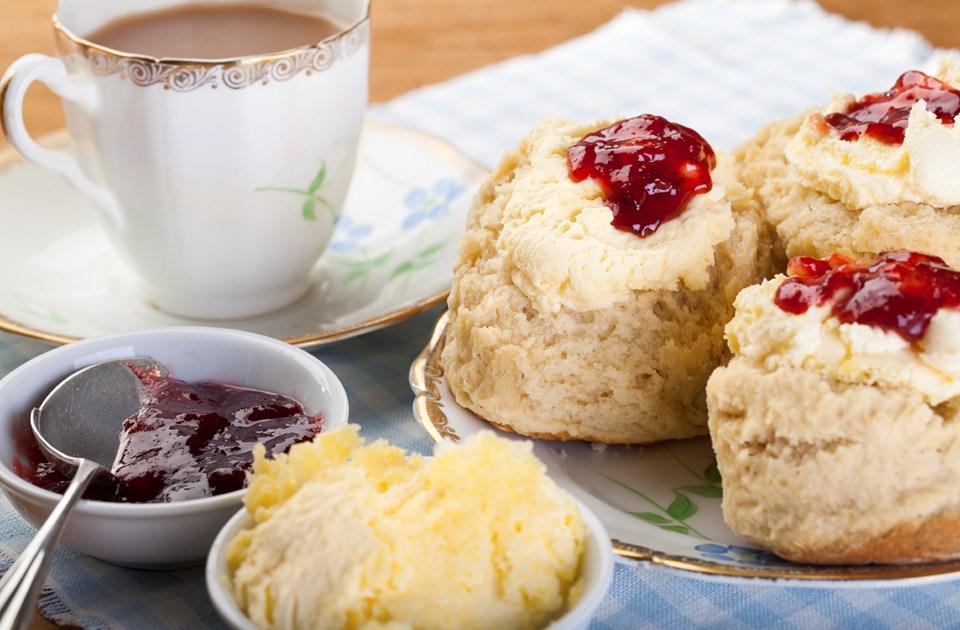 cream tea scones