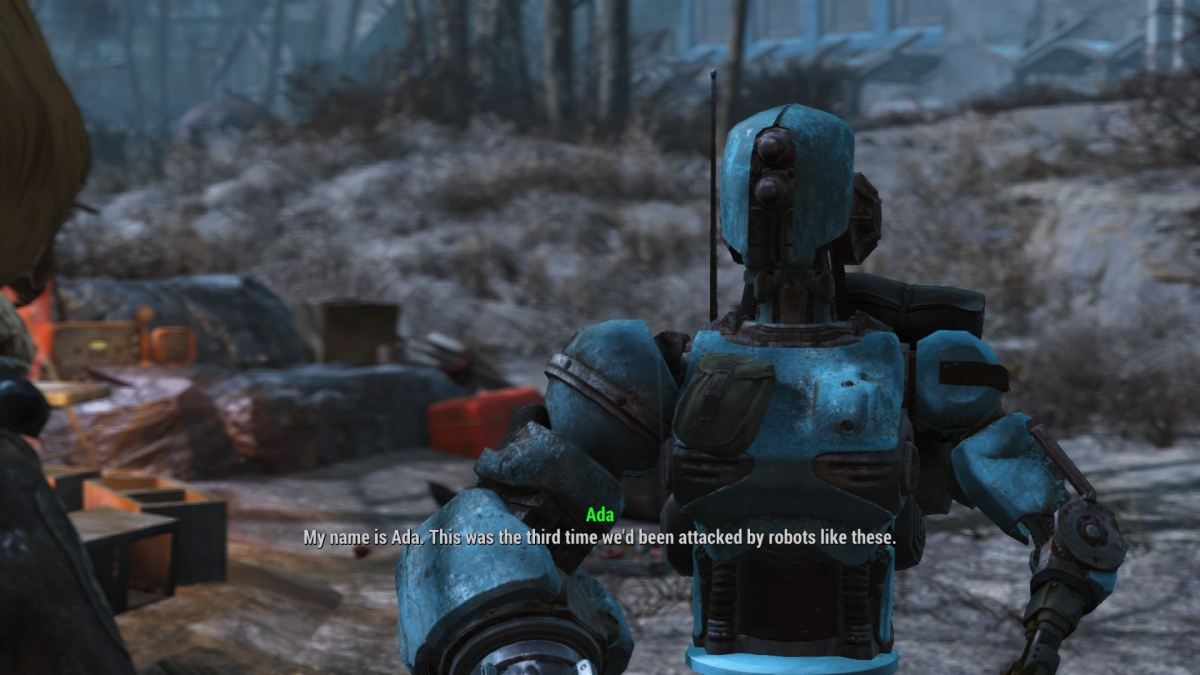 Fallout 4 Automatron DLC guide workbench 3