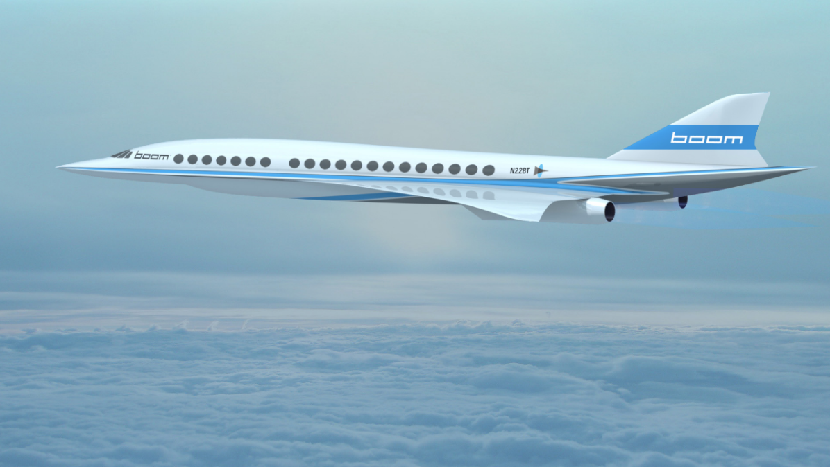 Boom supersonic jet prototype artist's impression