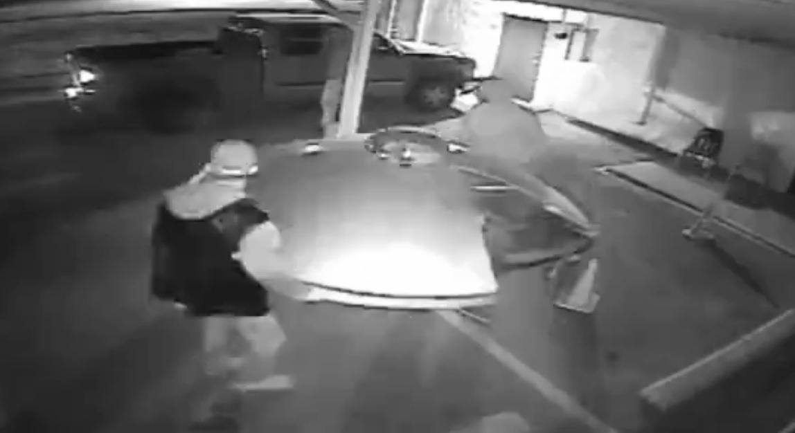 Roswell UFO stolen